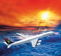 в Йоханнесбург и Кейптаун с South African Airways
